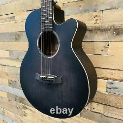 Tanglewood TWBB-SFCE Blackbird Super Folk Electro Acoustic Guitar Smokestack