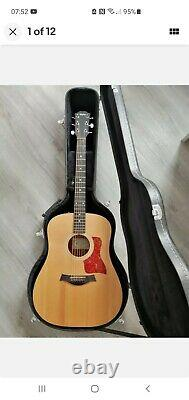 Taylor 110-E-GB Electro Acoustic Guitar (with new case)