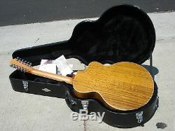 Taylor 455CE 12 String Left Handed Lefty Acoustic Electric Guitar Near MINT