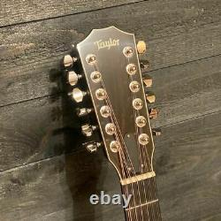Taylor 656CE 12 String Acoustic Electric Guitar with Case