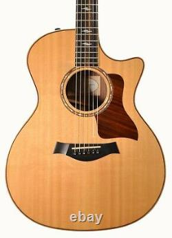 Taylor 814CE Acoustic/Electric Guitar with Padded Gig Bag 2015 Used
