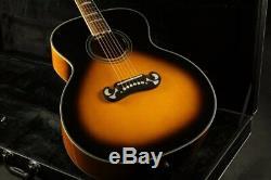 Top Quality J200A 43''Jumbo Electric Acoustic Guitar Fishman EQ Mahogany Neck