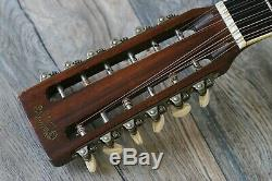 Vintage! 1970 Martin D-35 12-String Acoustic Dreadnaught Guitar +Hard-Shell Case