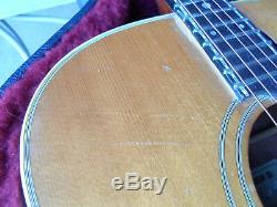 Vintage Grammer G-30 Acoustic Guitar Rare