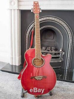 Westone electro acoustic guitar with hard case