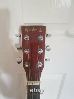 Woodstock Cutaway electro acoustic guitar
