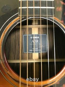 Yamaha A3R Acoustic Guitar and Hiscox Hard Case