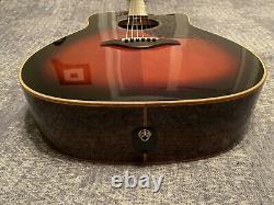 Yamaha A3R Dreadnought Acoustic-Electric Tobacco Brown Sunburst Guitar