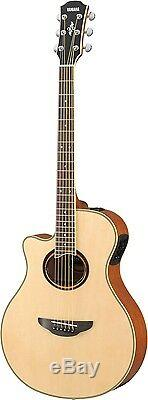 Yamaha APX700IIL Thinline Left-Handed Acoustic-Electric Guitar Natural Free Ship