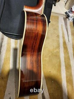 Yamaha LL6 sunburst electro acoustic guitar