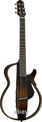 Yamaha SLG200S TBS Steel String Silent Guitar Tobacco Sunburst