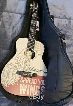 Yuengling Limited Edition Martin Guitar Electric Acoustic-NEW NEVER USED-SER#